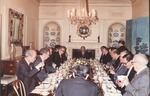 Marvin Stone at dinner at Blair House for Prime Min. of Japan