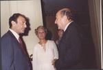 Marvin Stone with Iranian Ambassador Ardeshir Zahedi