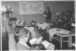 Marvin Stone & US Press Club at briefing, Hitachi Machine Works, Japan