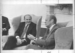 Marvin Stone with Pres. Gerald Ford at White House