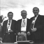 Marvin Stone with Frank Kane and Julius Gius, Honolulu