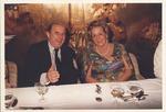 Marvin Stone with Georgia Angelucci aboard ship Stella Solaris