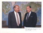 Marvin Stone and John Gunther Dean, Ambassador to India
