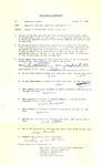 Confidential questionairre memo to Democratic leaders in North Carolina about Kennedy, Oct. 1960, b&w