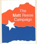 Matthew Reese political campaign manual for Jay Rockefeller reelection, 1980, col.