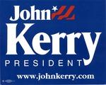 John Kerry for President poster, 2004, col.