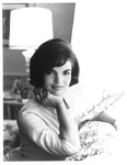 Autographed photo of 1st lady Jacqueline Kennedy, ca. 1960