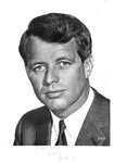 Autographed Photo of Robert F. Kennedy, ca. 1968