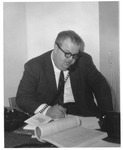 Matthew Reese working at Democratic national Convention, Aug. 25, 1965