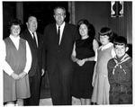 Matthew Reese, wife Martha and family, with Sen. Jennings Randolph