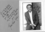 Richard Gordon Hatcher, first African-American mayor of Gary, Indiana, ca. 1968