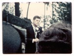John F. Kennedy during 1960 presedential campaign,St. Albans, WVa, 1960
