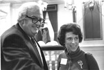 Matthew Reese and Linda Boggs, AAPC meeting, Jan. 1975