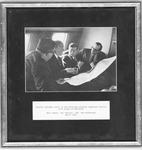 Senator John F. Kennedy, Matthew Reese, Ken Hechler, and Bob McDonough
