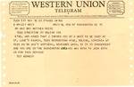 Western Union telegram from Ted Kennedy to Matthew Reese, Nov. 19, 1963, col.