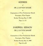 Mauzé User Guide by Robert H. Ellison