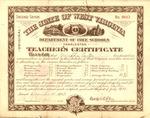 Memphis Tennessee Carter 2nd grade teaching certificate in WVa schools, Dec. 14, 1907, col.
