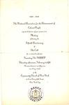 Invitation to NAACP 50th anniversary meeting, Feb. 12, 1959, col..
