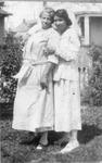 Memphis Tennessee Garrison (right) and Mrs. Jones, ca. 1918