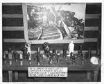 Display of coal miners' safety equipment, by E. E. Quenon, US Bureau of Mines