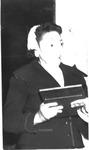 Helena P. Thomas receiving NAACP lifetime membership, Sept. 1959