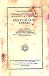 Program for NAACP Huntington WVa Branch, Freedom Fund Dinner, Apr. 9, 1960, b&w.