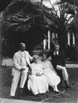 Jay Morrow and family while Governor of Canal Zone 1921-24