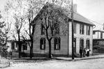 Clara Morrow and daughter Alice at Johnson home, Wellsburg, W.va.