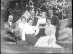 James E. Morrow, wife Clara and 5 children