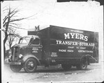 Myers Transfer and Storage Company Moving Truck