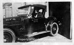 Huntington, W.Va. Fire Chief in Fire Chief Car by Marshall University