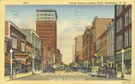 Fourth Avenue Looking East, Huntington, W. Va. by Curteich