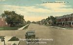 Looking West on Sixth Avenue, Huntington, W. Va. by C.T. Photochrome Studio
