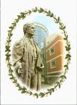 John Deaver Drinko library and John Marshall statue [photograph], 1999