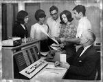 Marshall's IBM 1620 computer system, ca. 1968