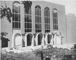 James E Morrow library, ca. 1965
