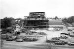 Fine arts building, under construction, 1990