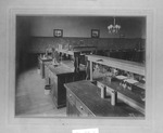 Inside of science lab, Marshall College
