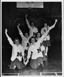 [Marshall college cheerleaders, ca. 1946]
