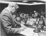 Jesse Stuart Day at Marshall university, 1975
