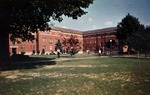 Hodges Hall men's dormitory, Marshall College, ca. 1960