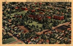 Aerial view of Marshall College 1937 - 1942