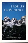 Marshall University Profiles in Prominence Volume 1, 2002 by Marshall University