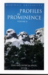 Marshall University Profiles in Prominence Volume 2, 2003 by Marshall University