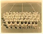 Marshall University 1970 football team photo, with coaches