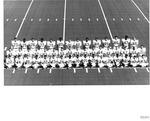 Marshall University 1970 football team photo