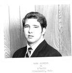 Mark Andrews, #61, 1970 MU Football team