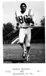 Dennis Blevins, #80, 1970 MU Football team