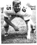 Tom Brown, #65, 1970 MU Football team