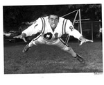 Roger Childers, #81, and team manager, 1970 MU Football team